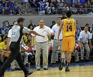 Jarencio set to resign as UST head coach post. INQUIRER file photo
