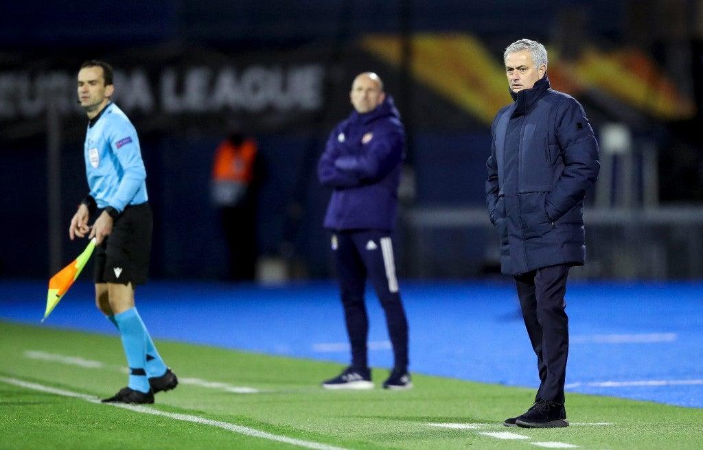 Tottenham 'disgrace' leaves Mourinho in the firing line