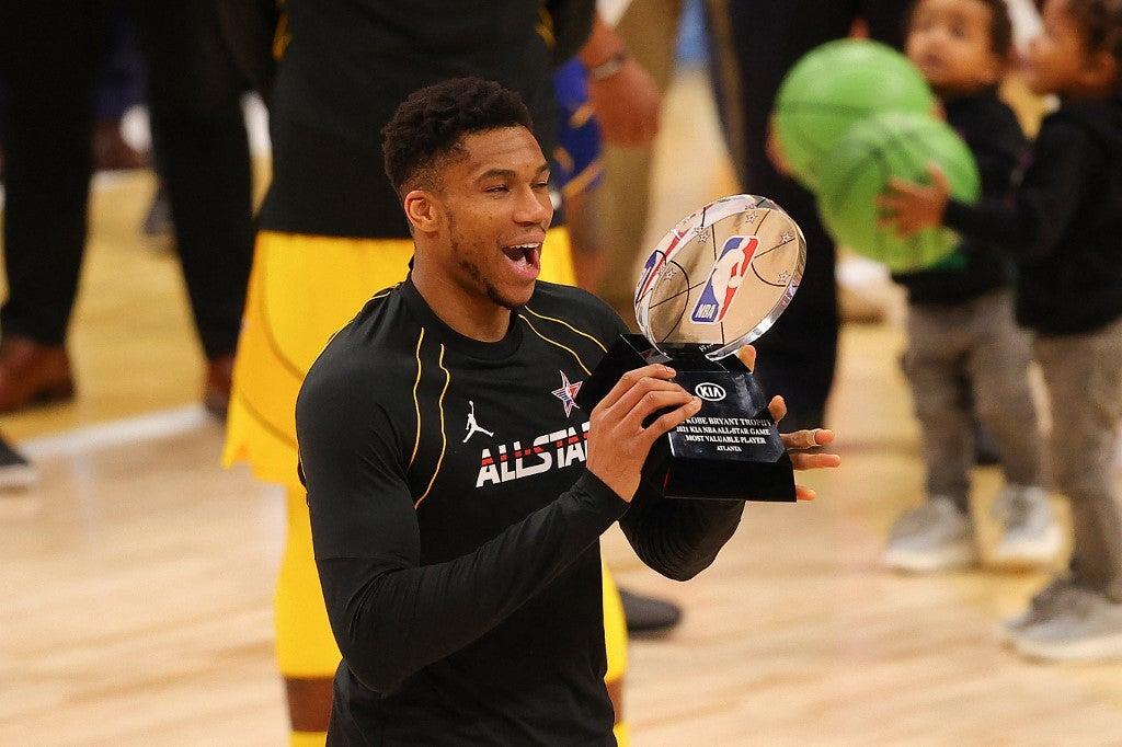 Giannis Antetokounmpo NBA All-Star Game