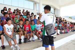 Pagcor allots P15M for training of young footballers