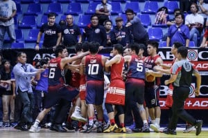 Scuffle breaks out in San Beda win over Letran